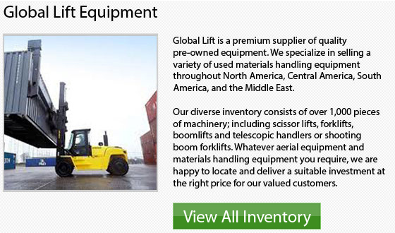 Manitou 4 Wheel Drive Forklift
